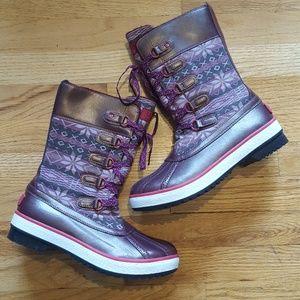 Ugg Baroness Sugar Plum Nordic Waterproof Boots